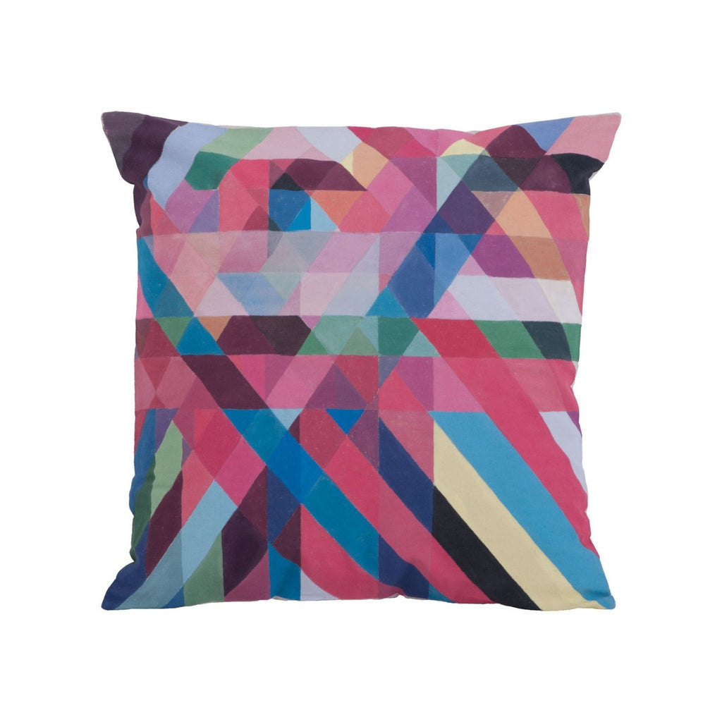 Color Ribbons Pillow Multi