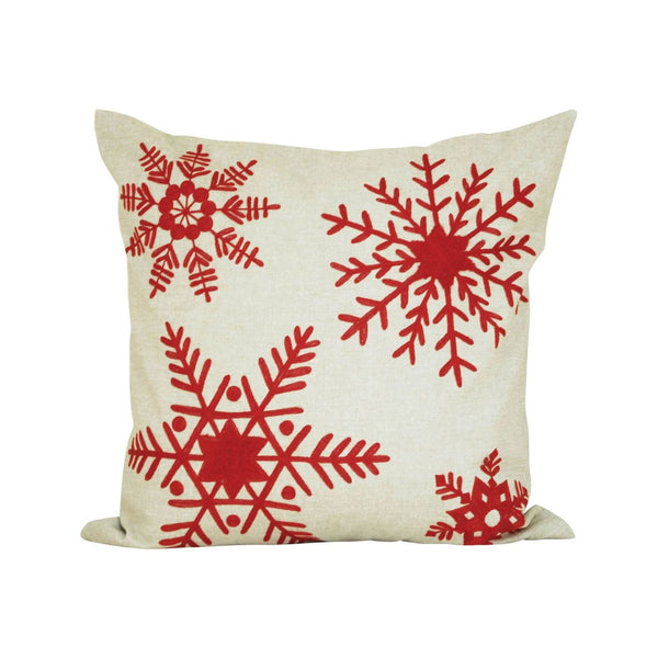 Noella 20X20 Pillow Sand,ribbon Red