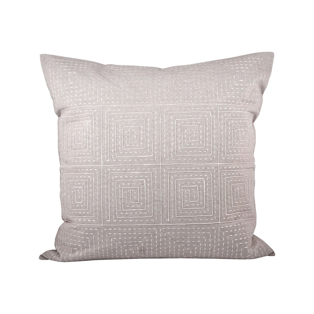 Piazza Pillow 24X24-Inch Dove,crema