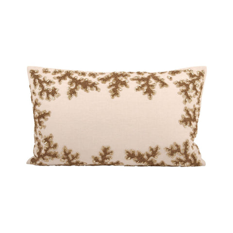Autumn Shimmer 20X12 Pillow Sand,dark Earth