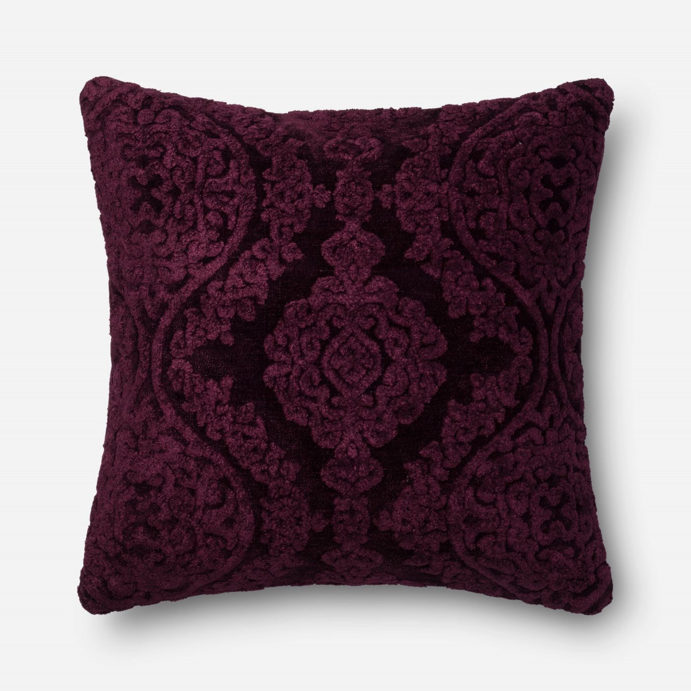 Throw Pillow Warehouse : Loloi Rugs Loloi Eggplant Decorative Throw Pillow (GPI05) DSETGPI05EG00PIL3. Only $139.00 at ...