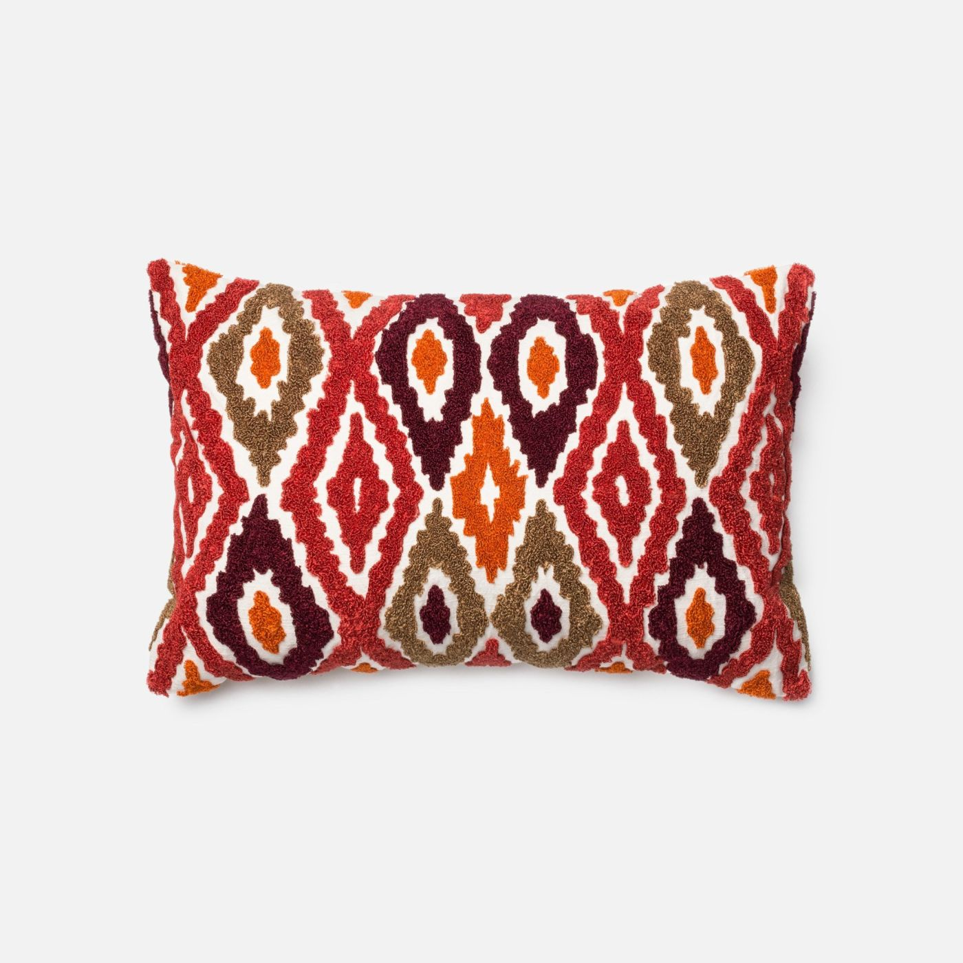 Throw Pillow Warehouse : Loloi Rugs Loloi Red / Orange Decorative Throw Pillow (P0008) DSETP0008REORPIL5. Only $89.00 at ...