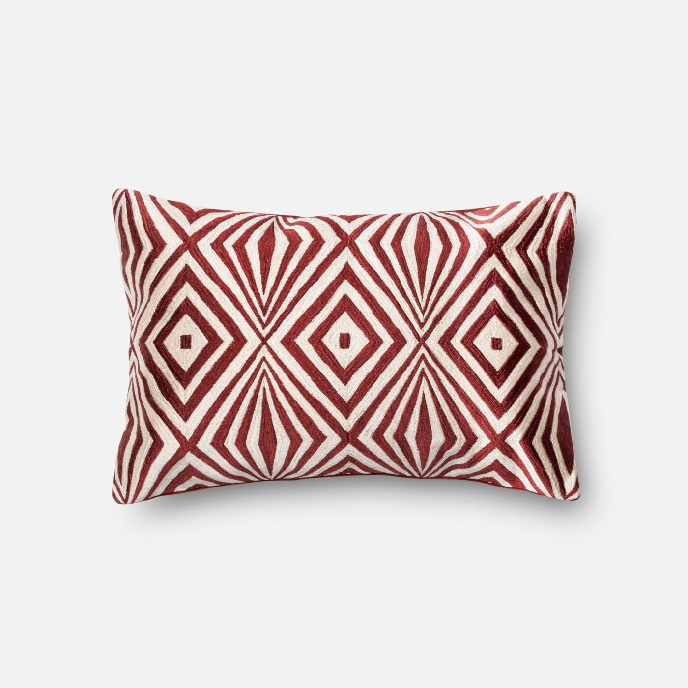 Loloi Rugs Loloi Red / Ivory Decorative Throw Pillow (P0011) DSETP0011REIVPIL5. Only $89.00 at ...