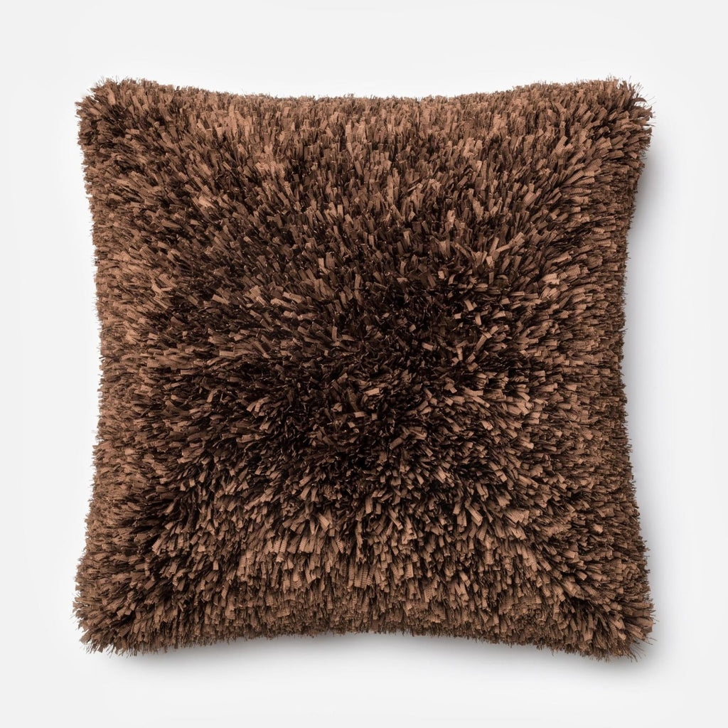 Loloi Brown Decorative Throw Pillow (P0045)