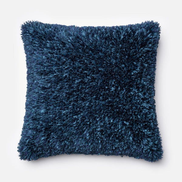 Loloi Navy Decorative Throw Pillow (P0045)