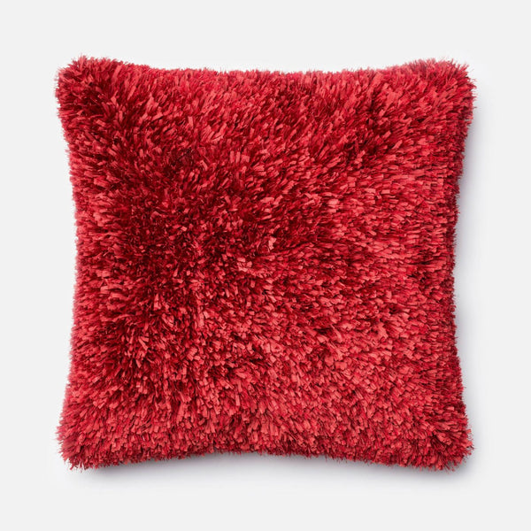 Loloi Red Decorative Throw Pillow (P0045)