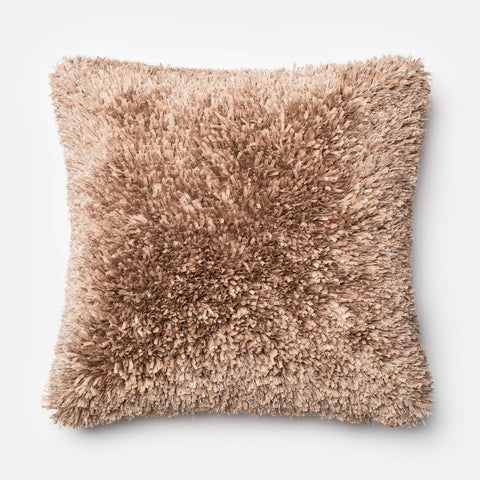 Loloi Tan Decorative Throw Pillow (P0045)