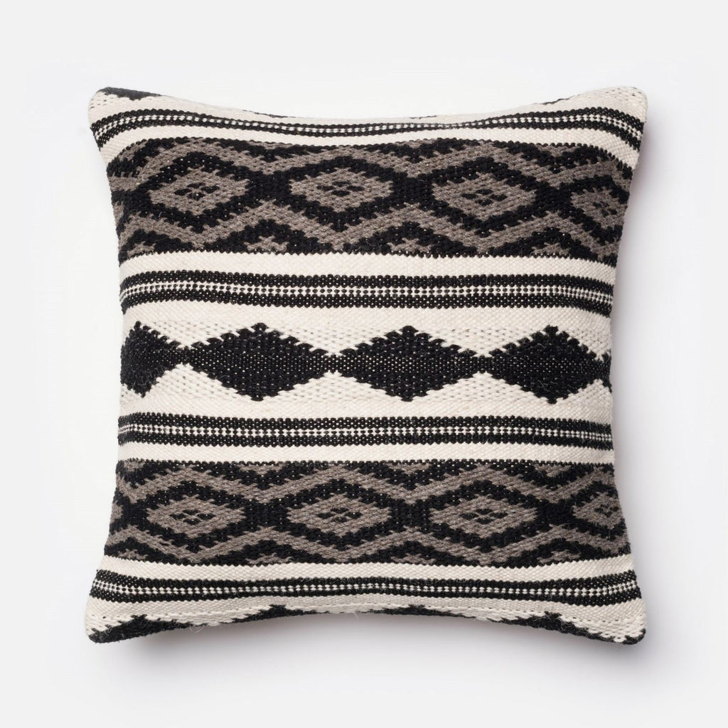 Throw Pillows - Loloi Rugs DSETP0095GYMLPIL3 Loloi Grey / Multi Decorative Throw Pillow (P0095) | 885369258565 | Only $89.00. Buy today at http://www.contemporaryfurniturewarehouse.com