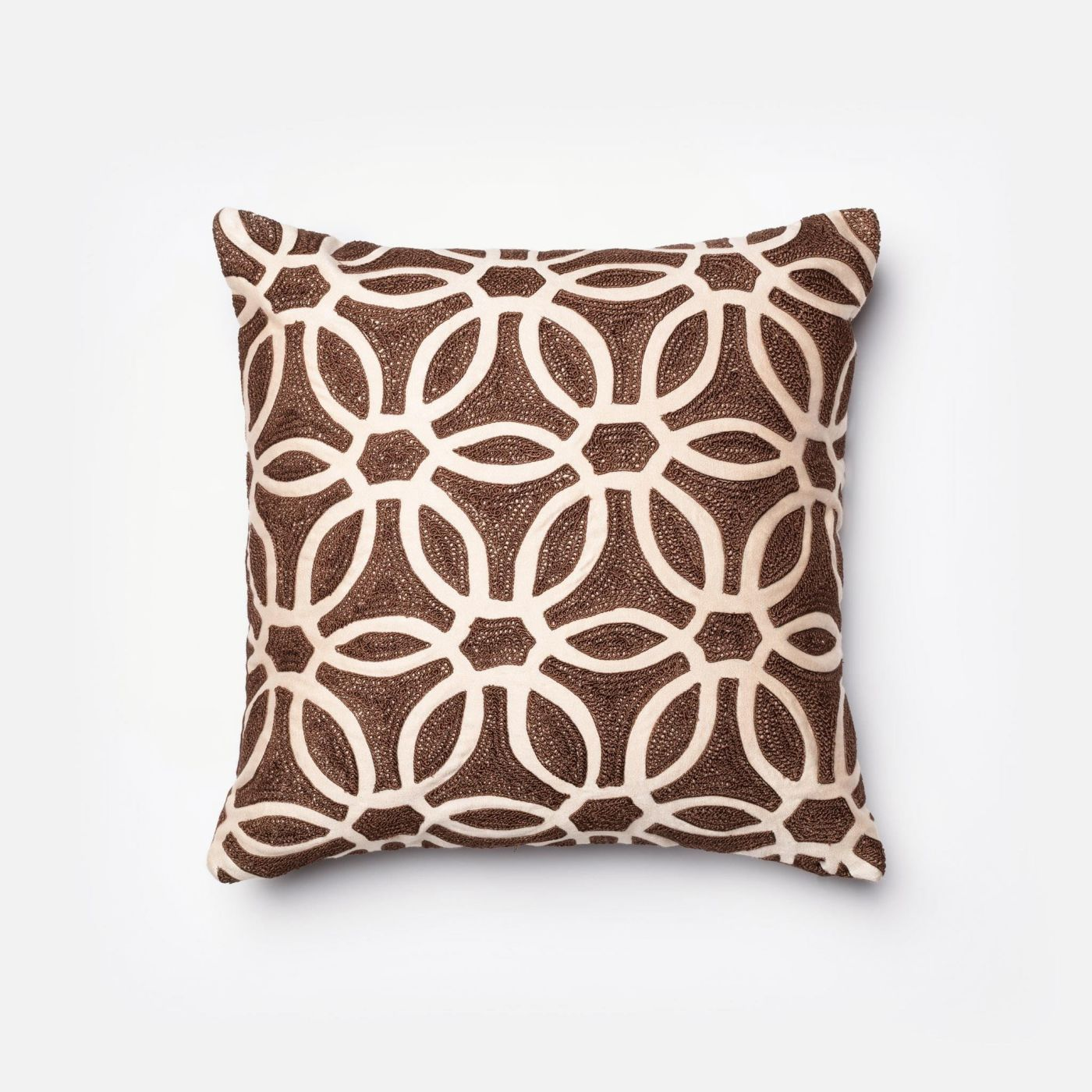 Decorative Pillows Beige : Loloi Rugs Loloi Brown / Beige Decorative Throw Pillow (P0135) DSETP0135BRBEPIL1. Only $99.00 at ...