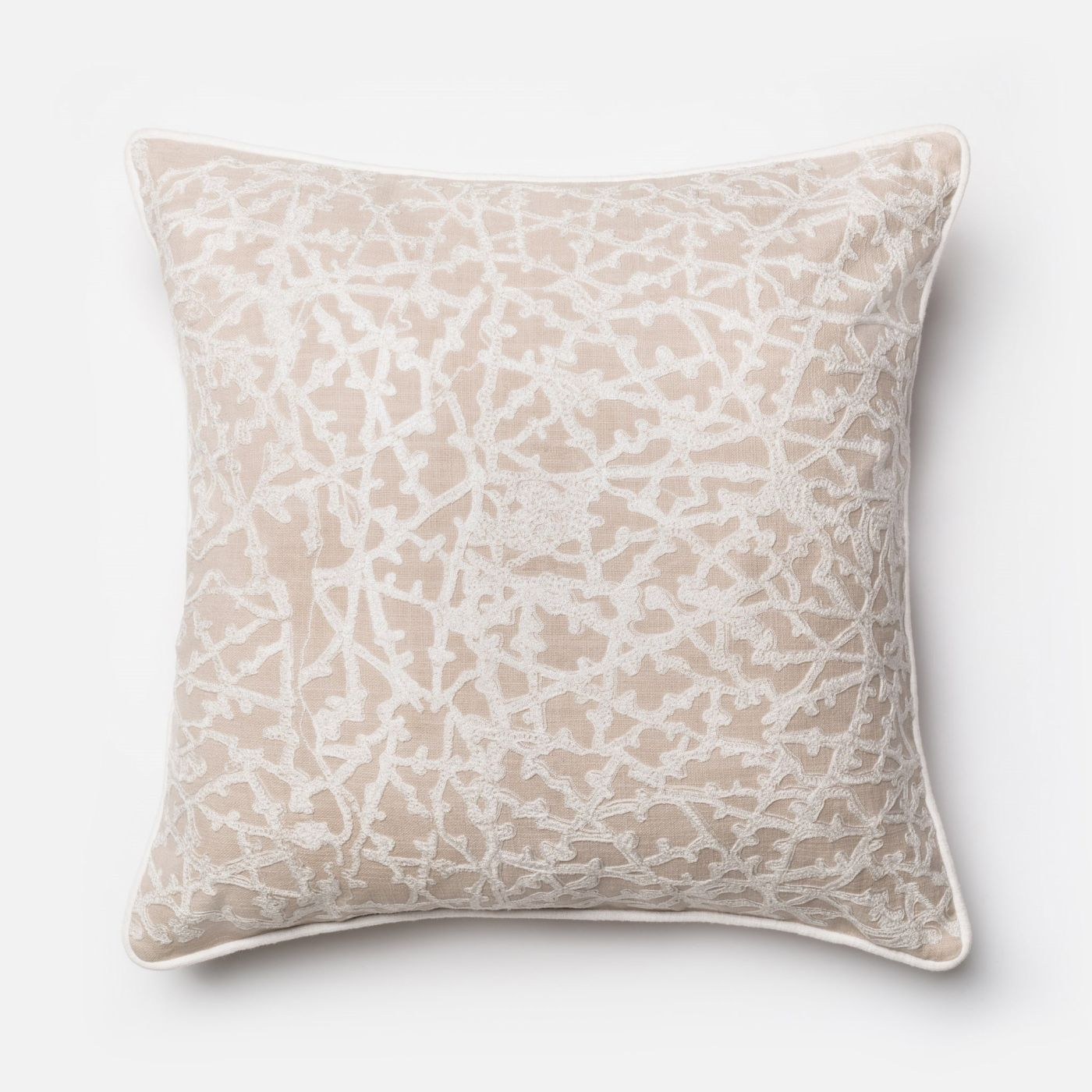 Throw Pillow Warehouse : Loloi Rugs Loloi Beige / White Decorative Throw Pillow (P0149) DSETP0149BEWHPIL3. Only $89.00 at ...