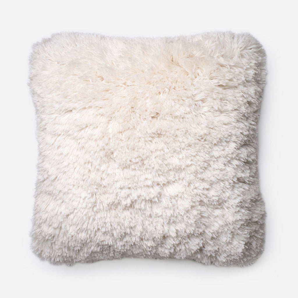 Throw Pillows - Loloi Rugs DSETP0191IV00PIL3 Loloi Ivory Decorative Throw Pillow (P0191) | 885369259777 | Only $99.00. Buy today at http://www.contemporaryfurniturewarehouse.com