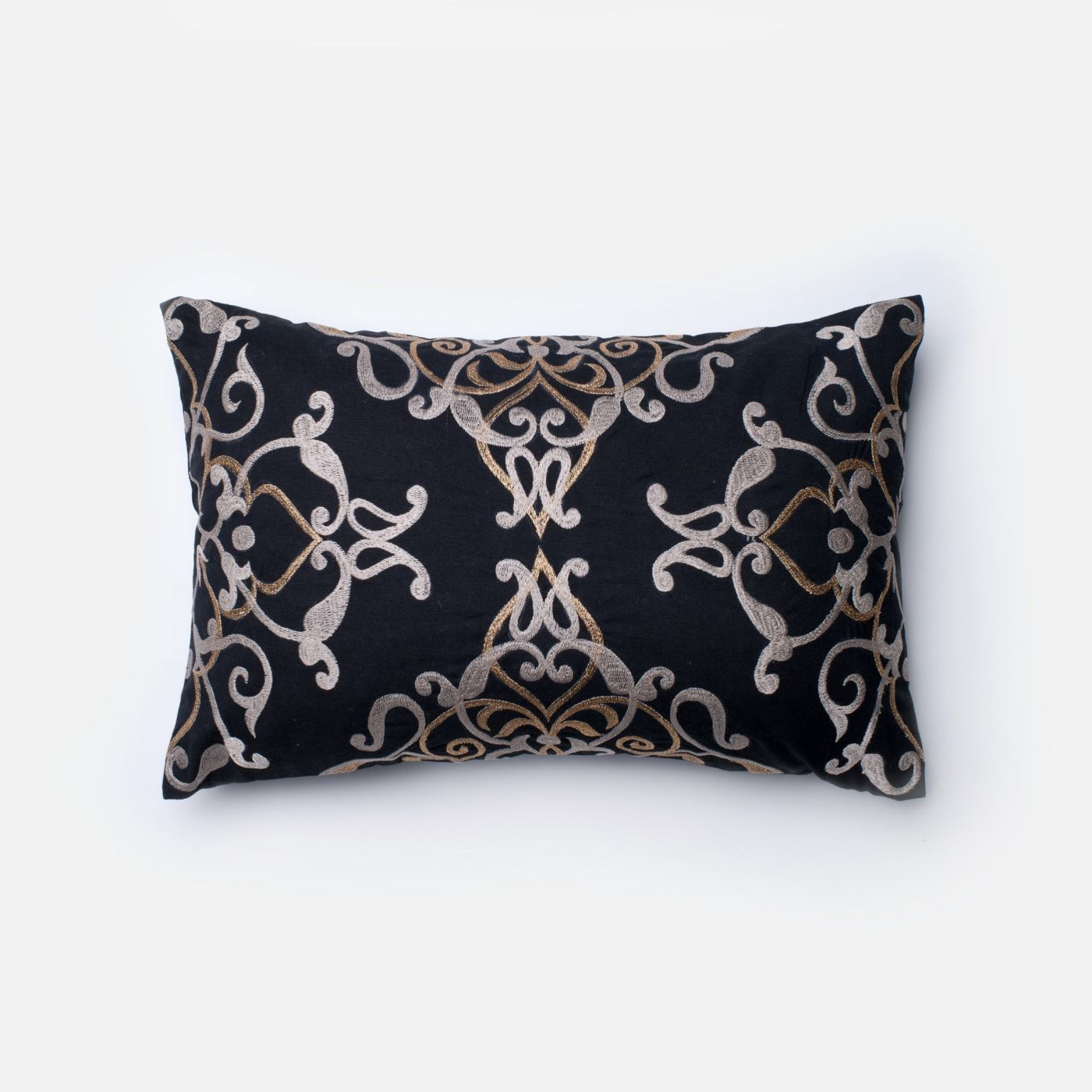 Loloi Rugs Loloi Black / Taupe Decorative Throw Pillow (P0202) DSETP0202BLTAPIL5. Only $79.00 at ...