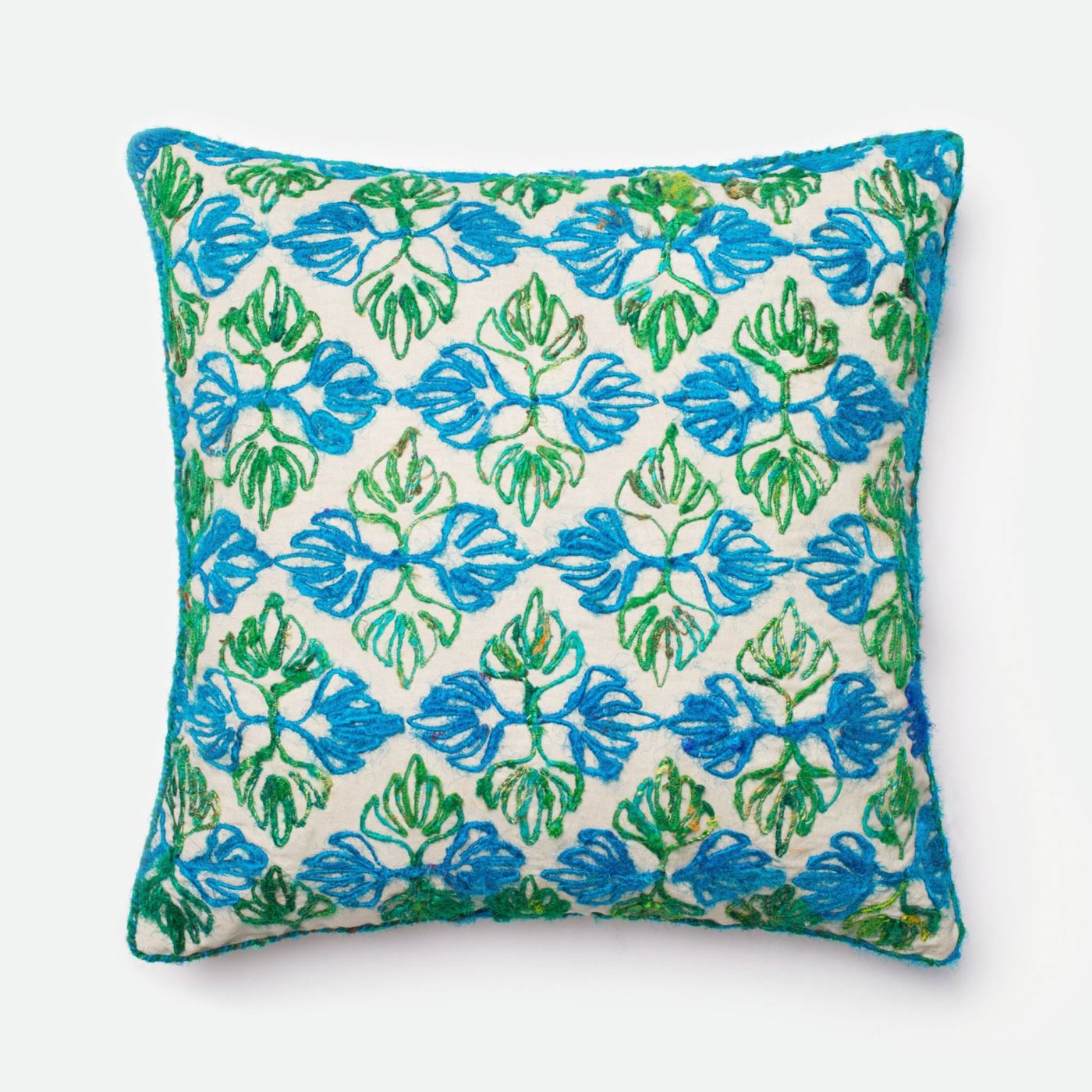 Throw Pillow Warehouse : Loloi Rugs Loloi Green / Blue Decorative Throw Pillow (P0231) DSETP0231GRBBPIL3. Only $69.00 at ...