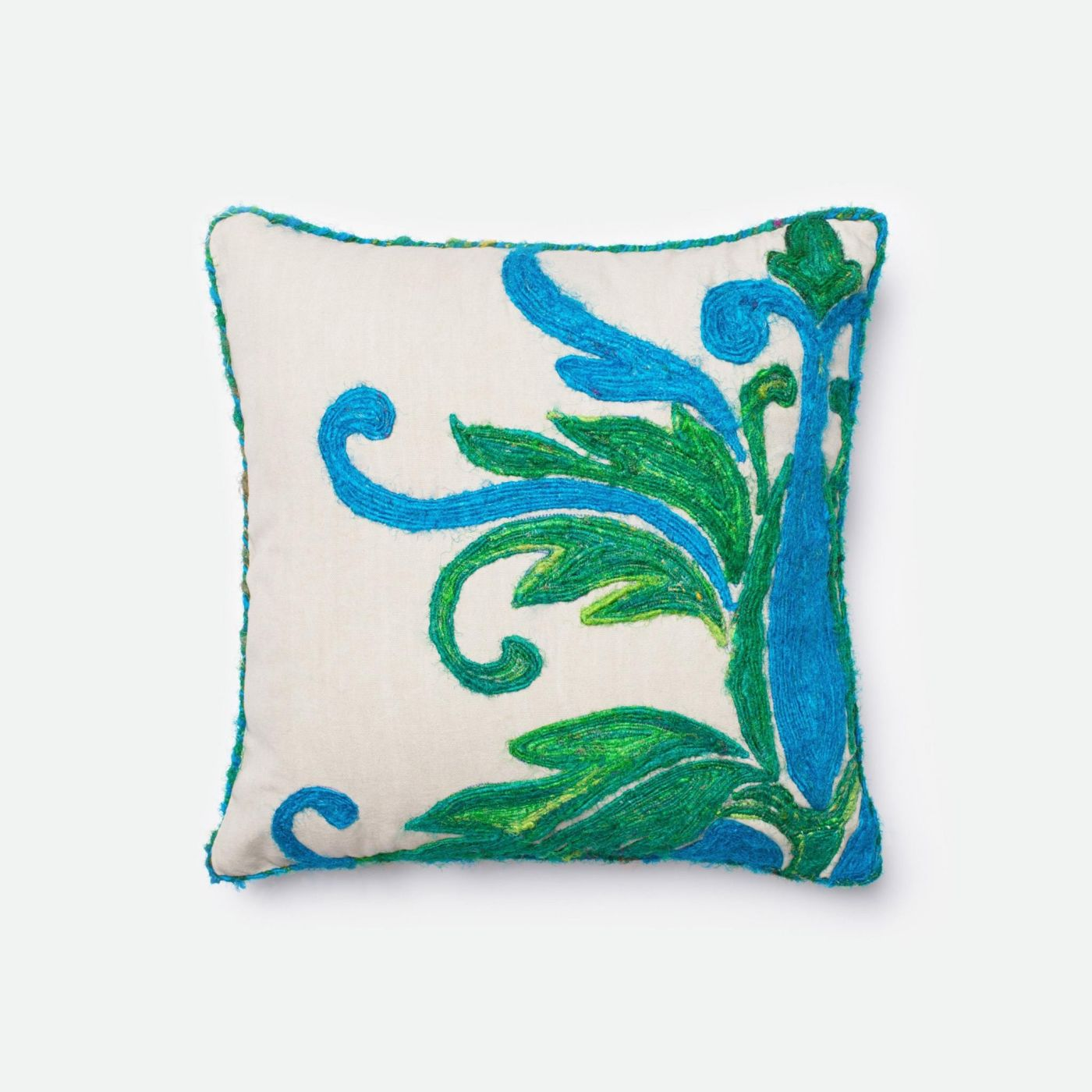 Throw Pillow Warehouse : Loloi Rugs Loloi Green / Blue Decorative Throw Pillow (P0232) DSETP0232GRBBPIL1. Only $69.00 at ...
