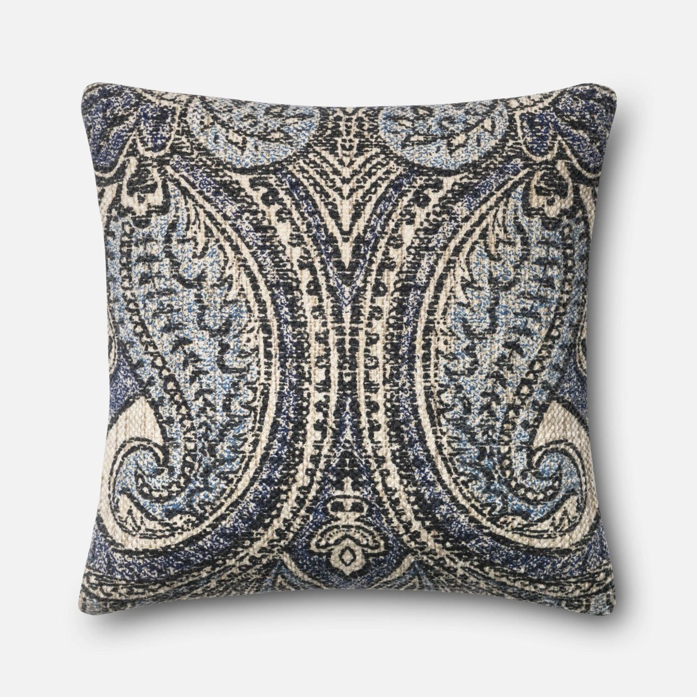 Ivory Decorative Throw Pillows : Loloi Rugs Loloi Blue / Ivory Decorative Throw Pillow (P0363) DSETP0363BBIVPIL3. Only $89.00 at ...