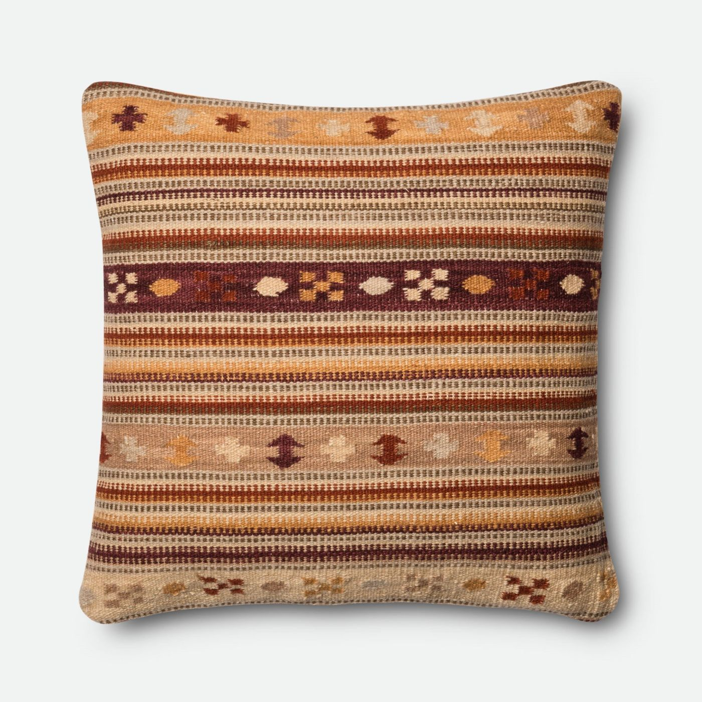 Loloi Rugs Loloi Rust / Gold Decorative Throw Pillow (P0395) DSETP0395RUGOPIL3. Only $119.00 at ...