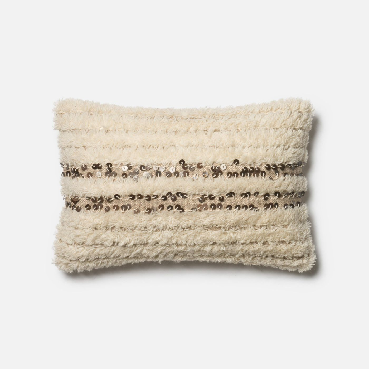 Ivory Decorative Throw Pillows : Loloi Rugs Loloi Ivory Decorative Throw Pillow (P0423) DSETP0423IV00PIL5. Only $119.00 at ...