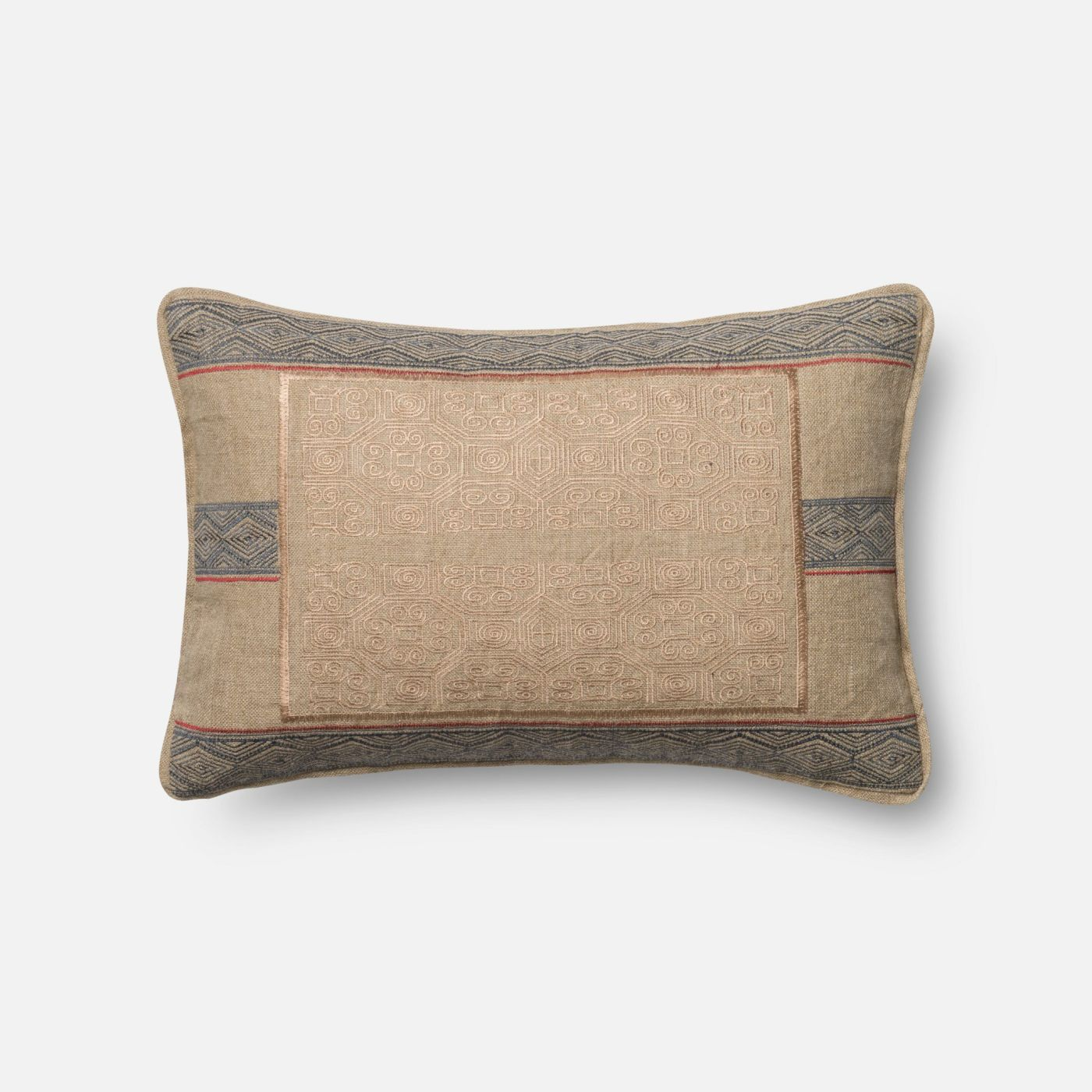 Throw Pillows Under 5 Dollars : Loloi Rugs Loloi Beige / Blue Decorative Throw Pillow (P0431) DSETP0431BEBBPIL5. Only $89.00 at ...