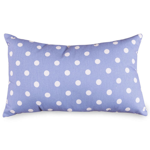 Lavender Polka Dots Small Pillow