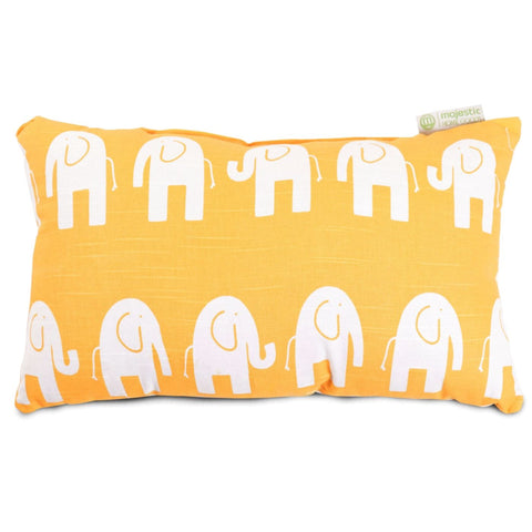 Yellow Ellie Small Pillow