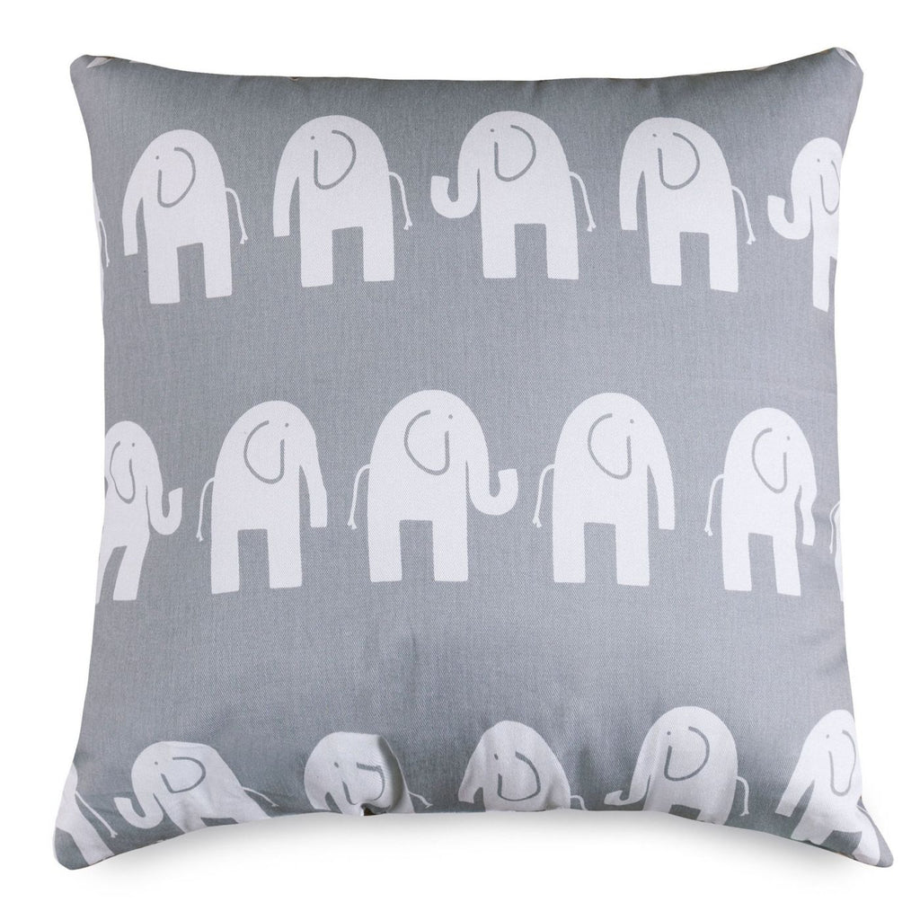 Gray Ellie Large Pillow