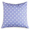 Lavender Polka Dots Extra Large Pillow