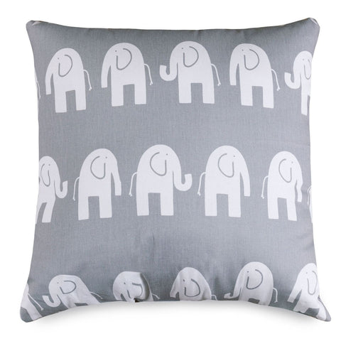 Gray Ellie Extra Large Pillow