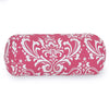 Hot Pink French Quarter Round Bolster Pillow