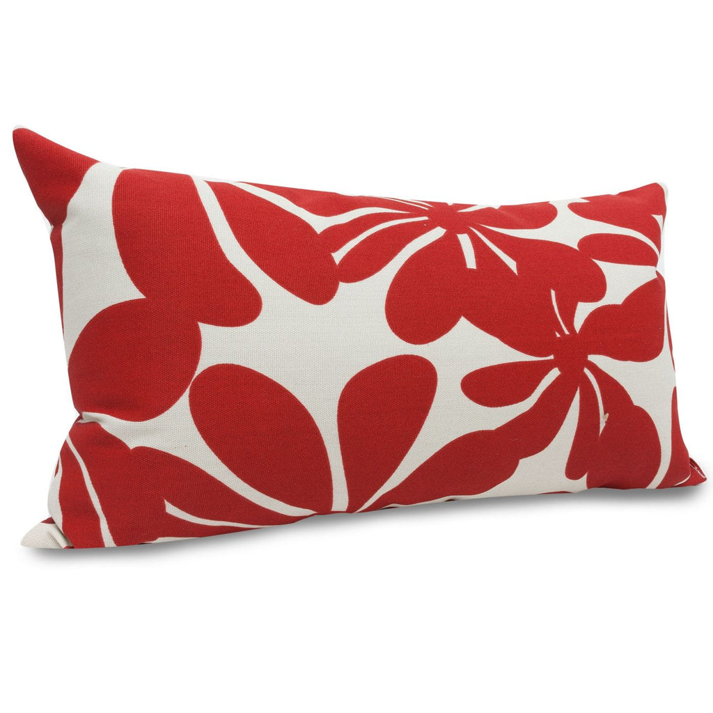 Red Plantation Small Pillow