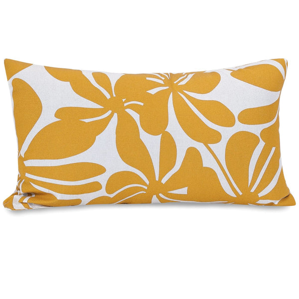Yellow Plantation Small Pillow
