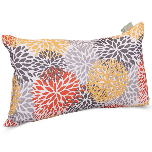 Citrus Blooms Small Pillow