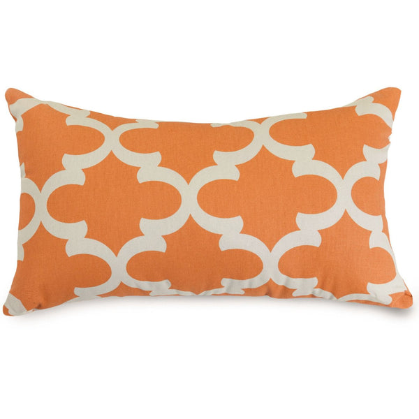 Peach Trellis Small Pillow