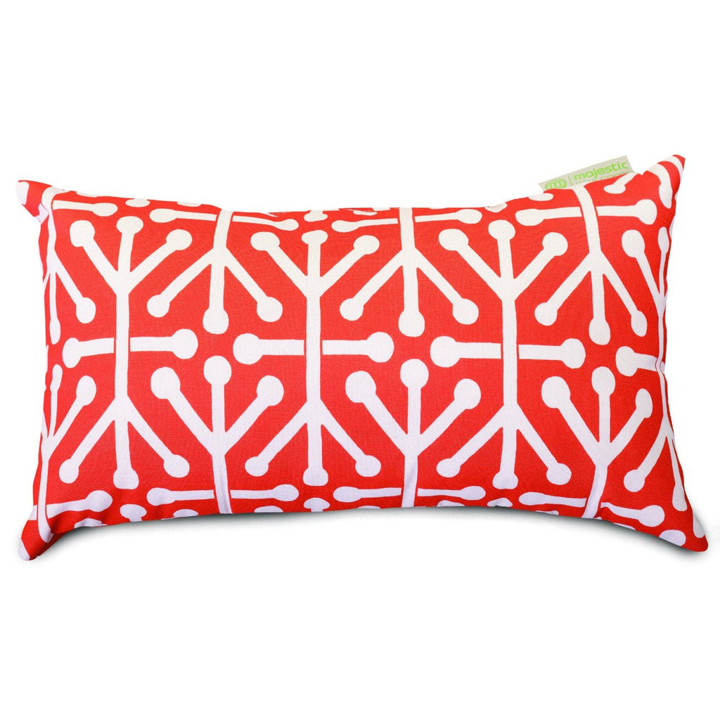 Orange Aruba Small Pillow