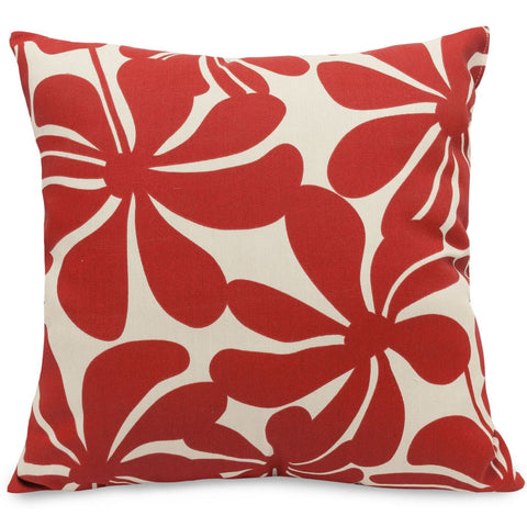 Red Plantation Large Pillow