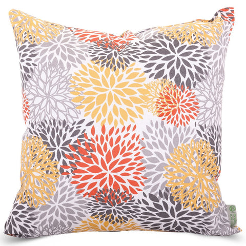 Citrus Blooms Large Pillow