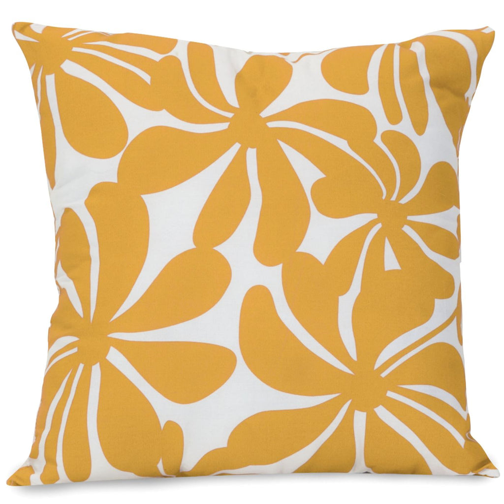Yellow Plantation Extra Large Pillow