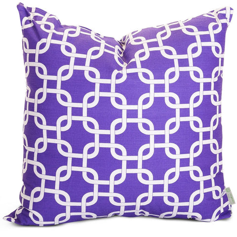 Purple Links Extra Large Pillow