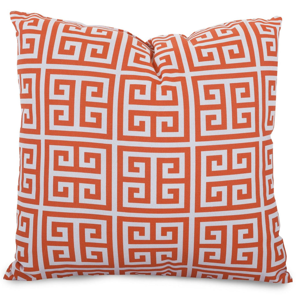 Orange Towers Extra Large Pillow