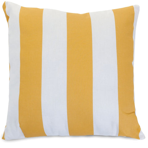 Yellow Vertical Stripe Extra Large Pillow
