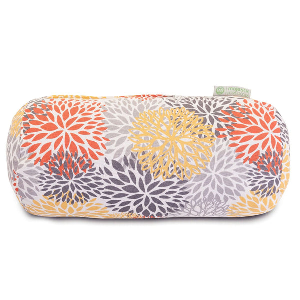 Citrus Blooms Round Bolster Pillow