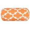 Peach Trellis Round Bolster Pillow
