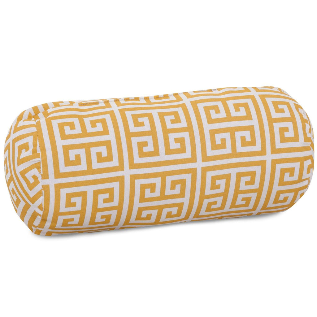 Citrus Towers Round Bolster Pillow