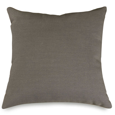 Gray Wales Large Pillow