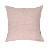 Lemmy Linen Feather Cushion Purple 20X20 Pillow