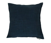Lemmy Linen Feather Cushion Denim Blue 20X20 Pillow