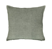 Lemmy Linen Feather Cushion Grey 20X20 Pillow