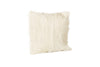 Goat Fur Pillow Natural Front