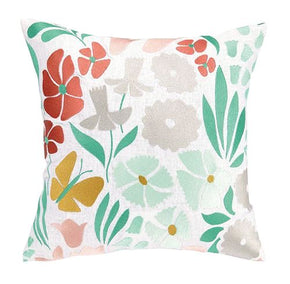 Summer Bloom Pillow 16X16