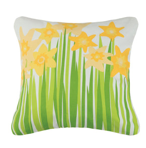 Daffodil Printed Od Pillow