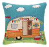 Going Places Trailer Pillow